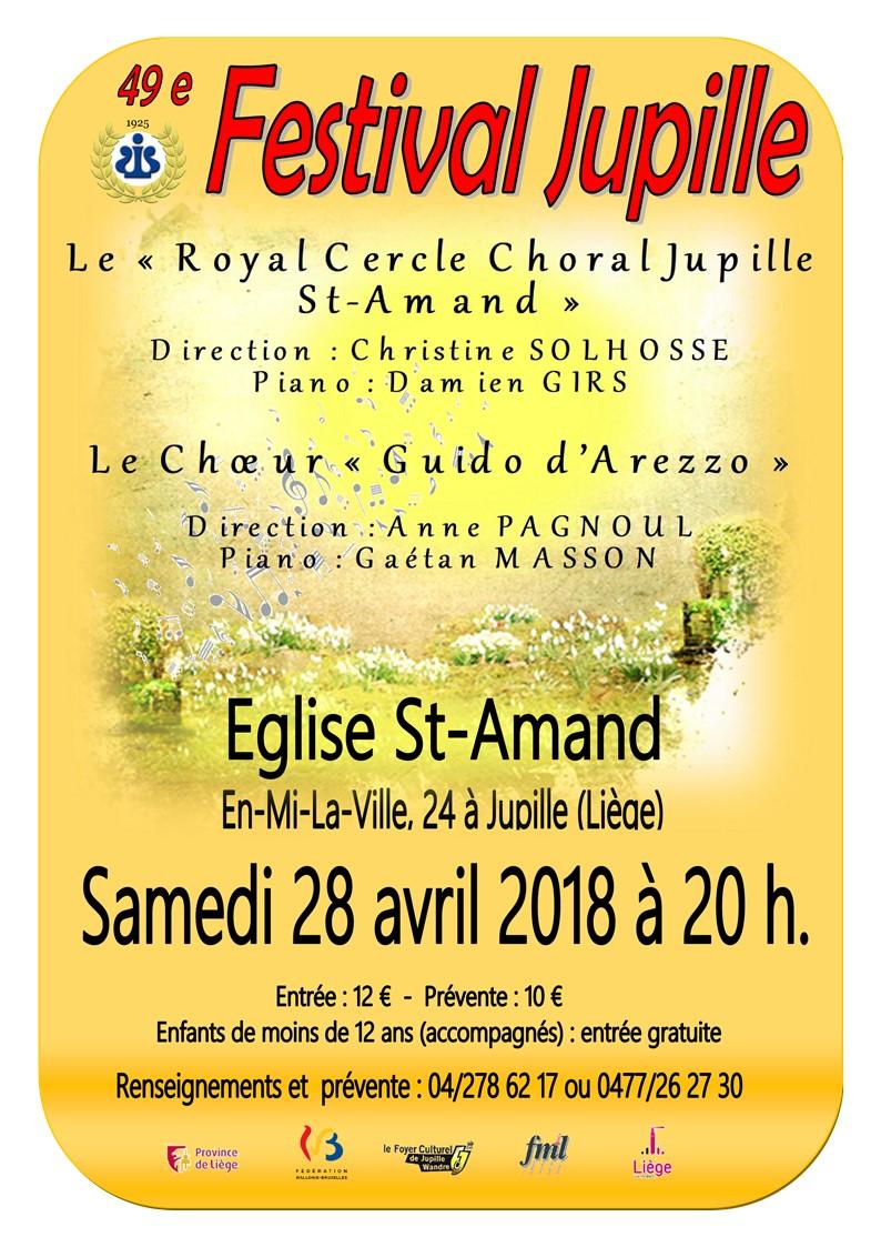 Affiche concert mars 2018