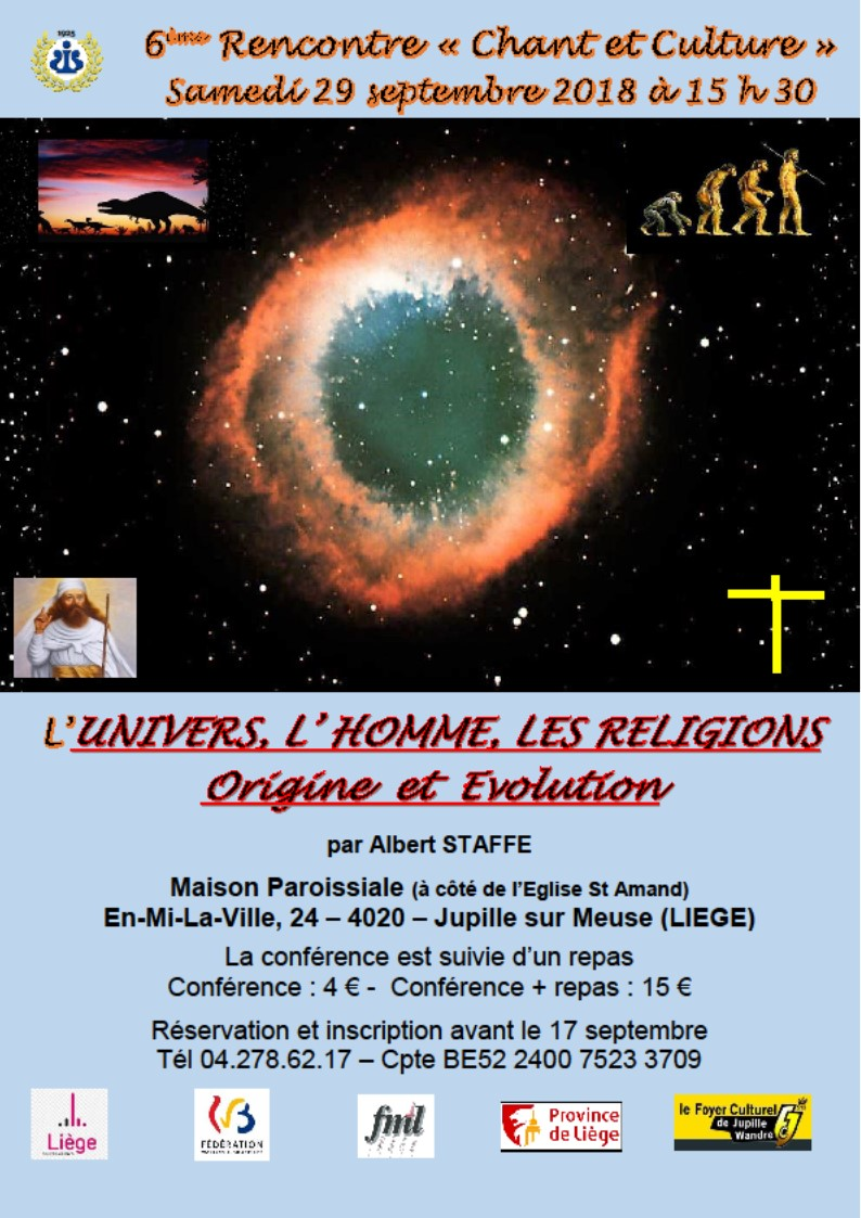 Affiche conference albert staffe 2018