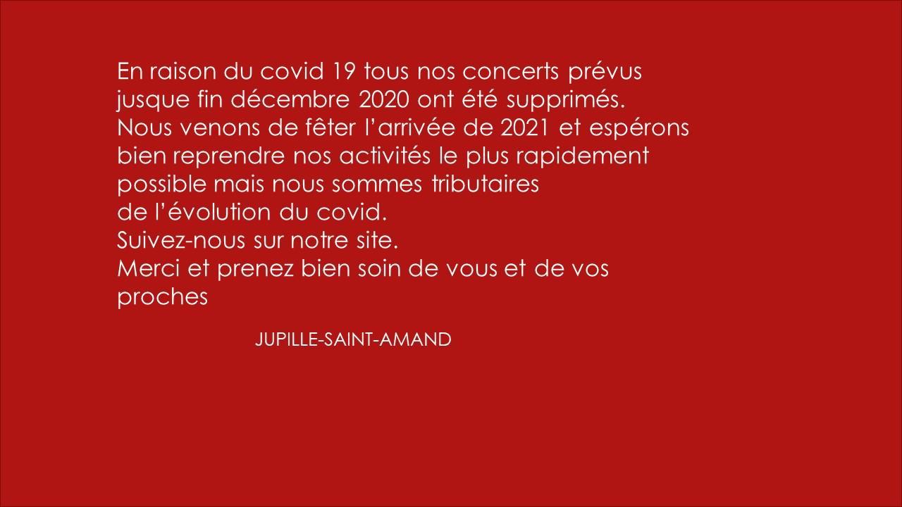 Covid 19 - Janvier 2021